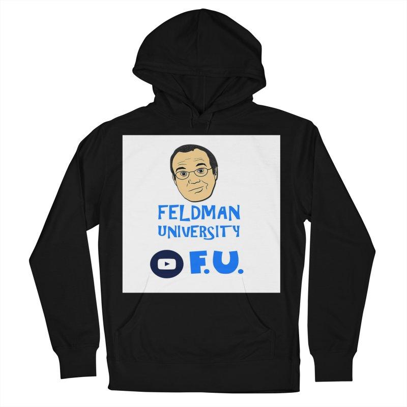 Feldman University Men's French Terry Pullover Hoody by The David Feldman Show Official Merch Store