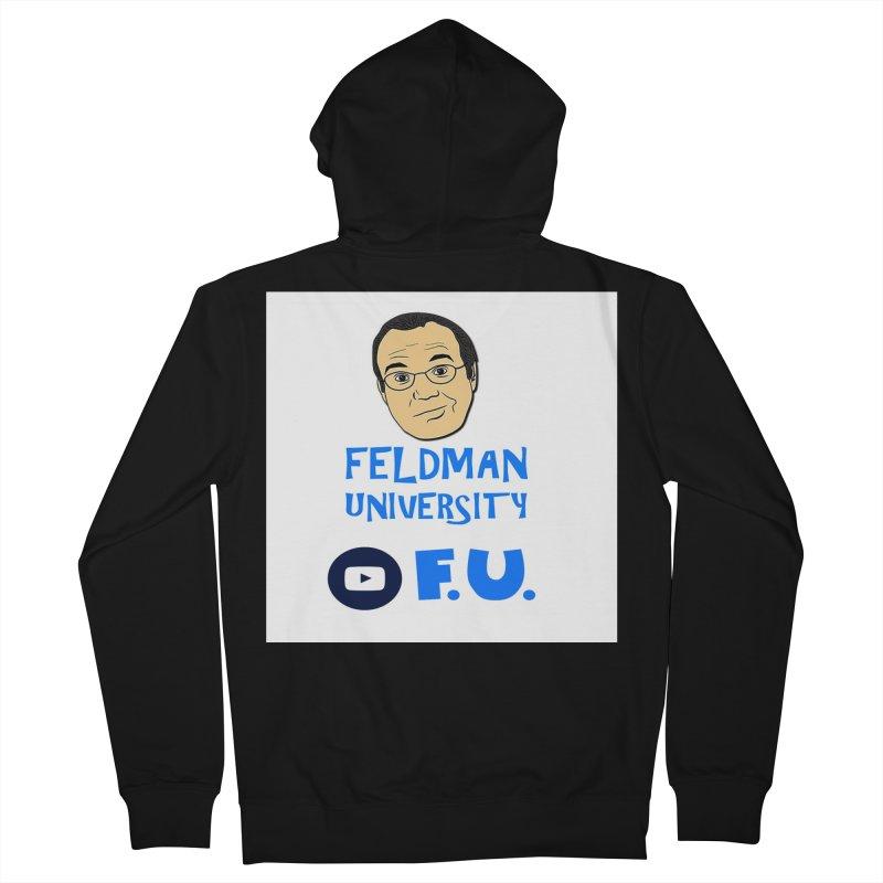 Feldman University Women's French Terry Zip-Up Hoody by The David Feldman Show Official Merch Store