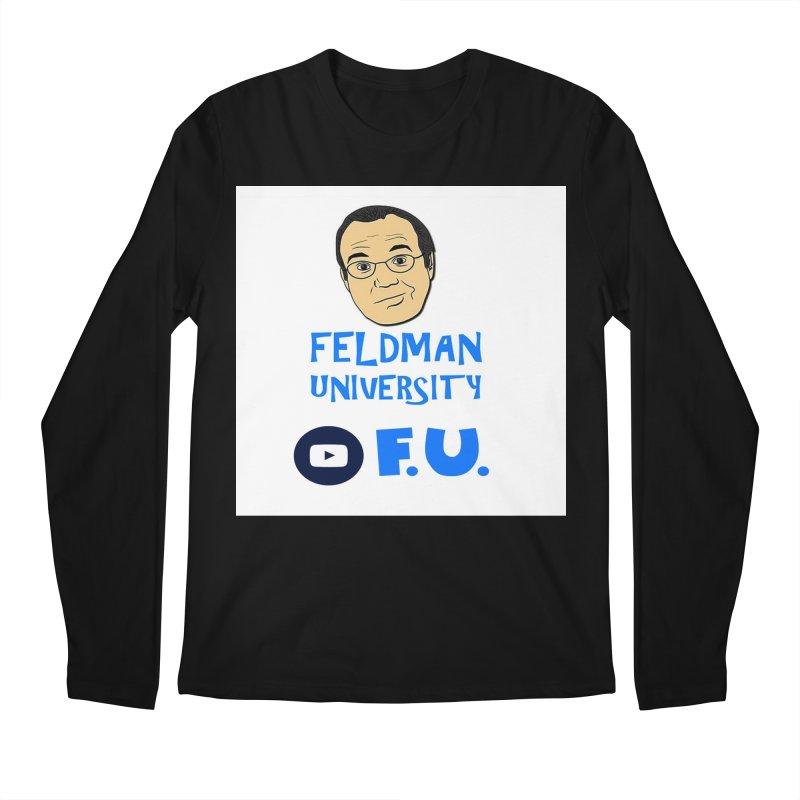 Feldman University Men's Regular Longsleeve T-Shirt by The David Feldman Show Official Merch Store