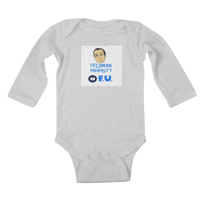 Feldman University Kids Baby Longsleeve Bodysuit by The David Feldman Show Official Merch Store