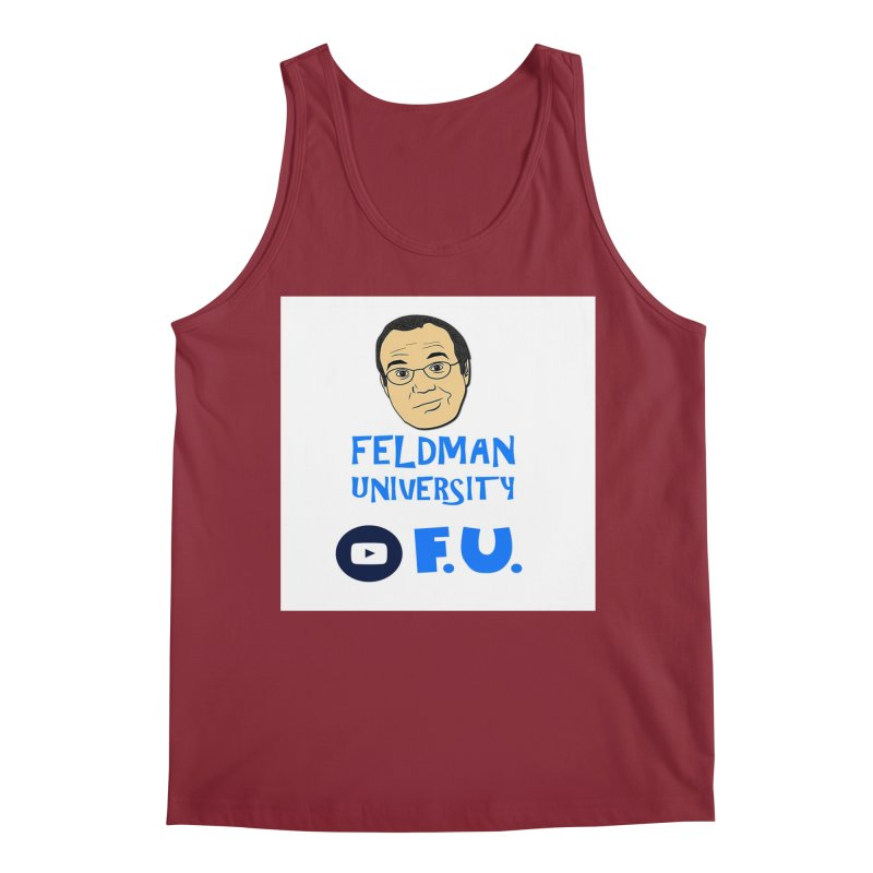 Feldman University Men's Regular Tank by The David Feldman Show Official Merch Store