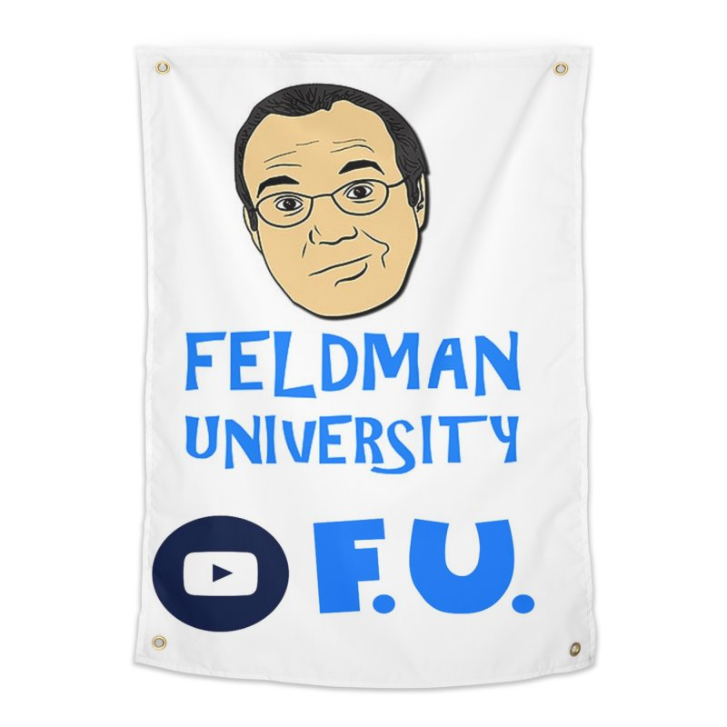 Feldman University Home Tapestry by The David Feldman Show Official Merch Store