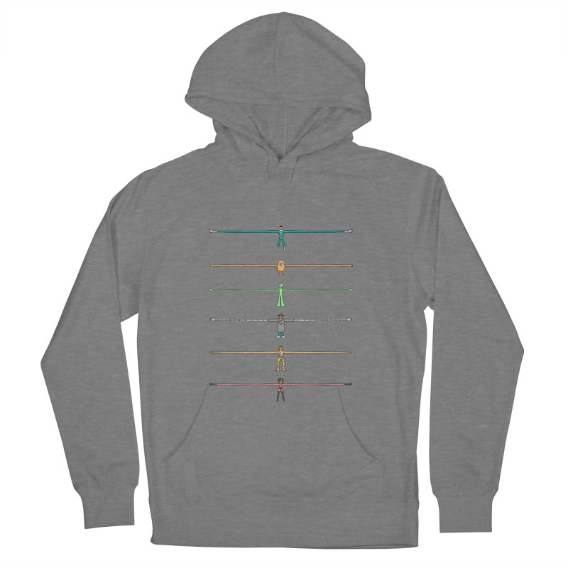 AAAAAARMS! Men's French Terry Pullover Hoody by davidfromdallas's Artist Shop