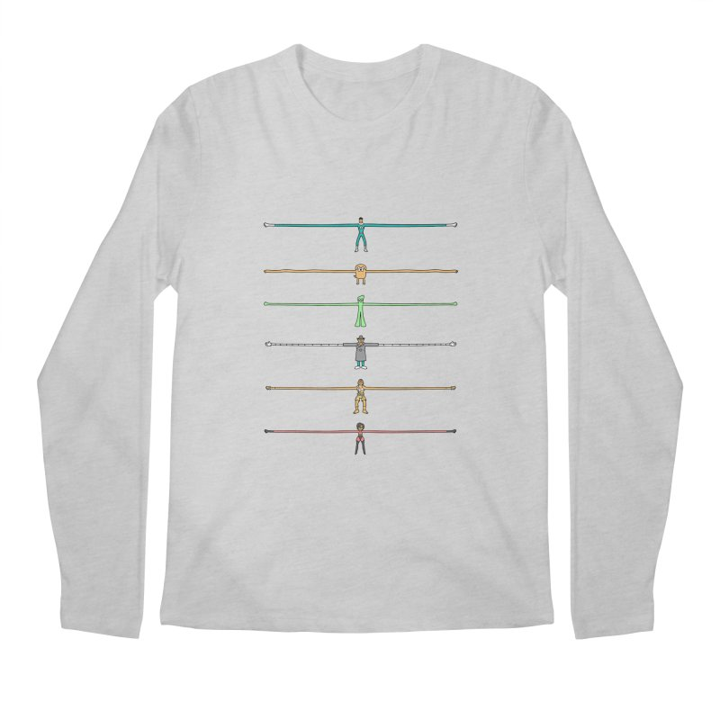 AAAAAARMS! Men's Longsleeve T-Shirt by davidfromdallas's Artist Shop