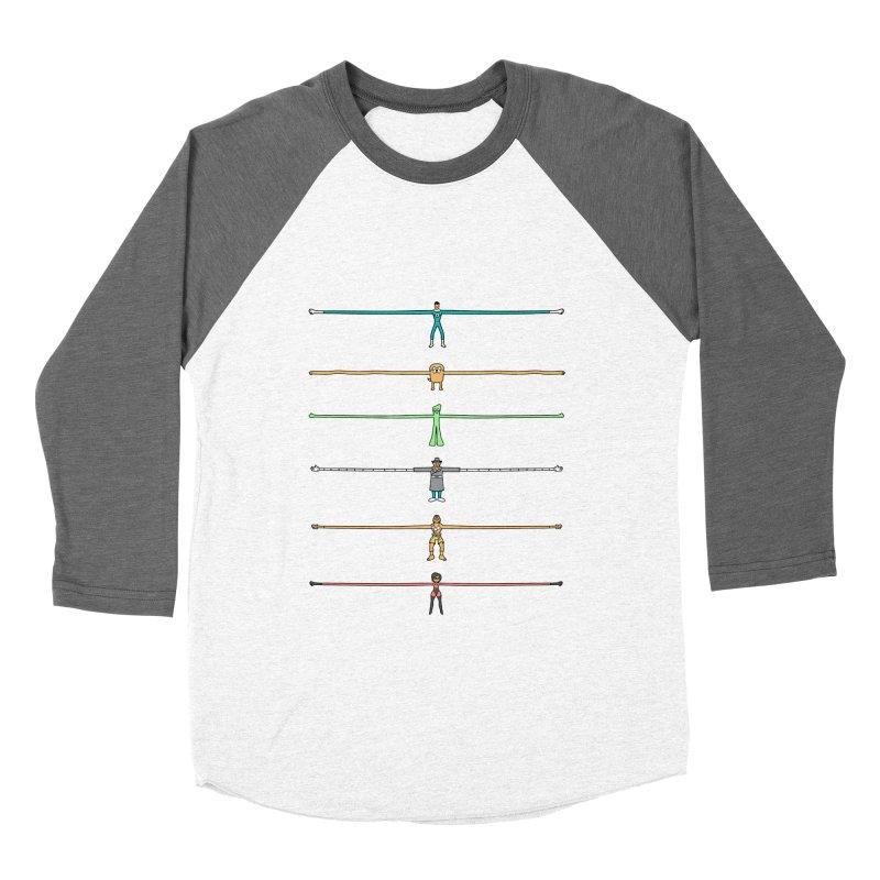 AAAAAARMS! Men's Baseball Triblend Longsleeve T-Shirt by davidfromdallas's Artist Shop