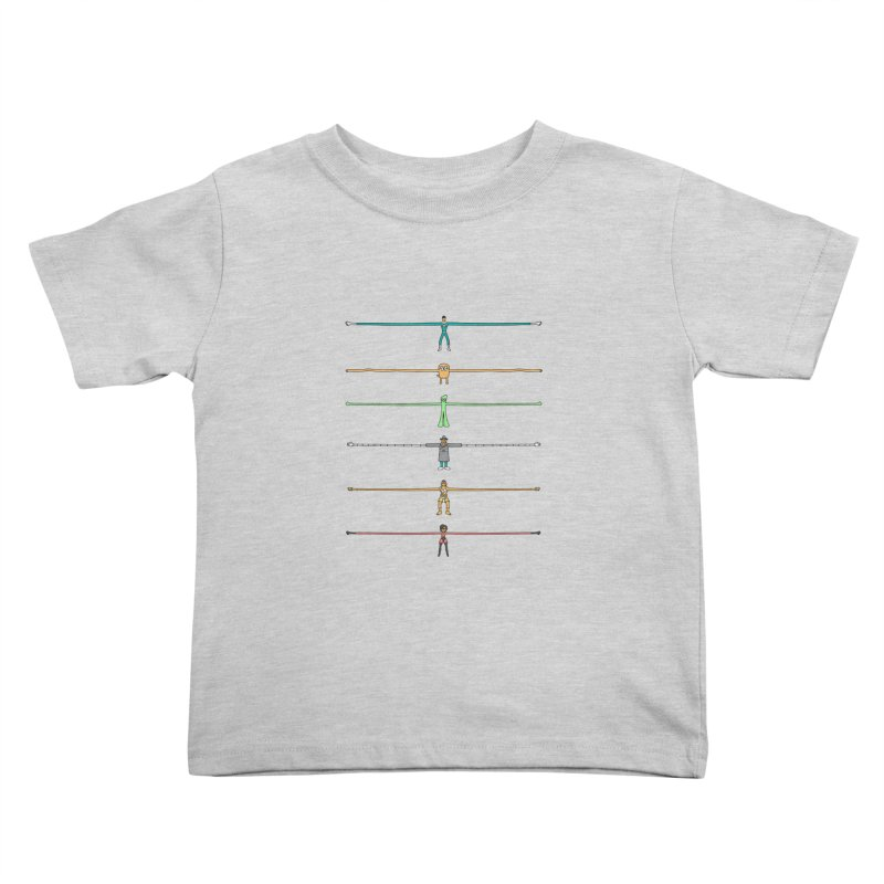 AAAAAARMS! Kids Toddler T-Shirt by davidfromdallas's Artist Shop