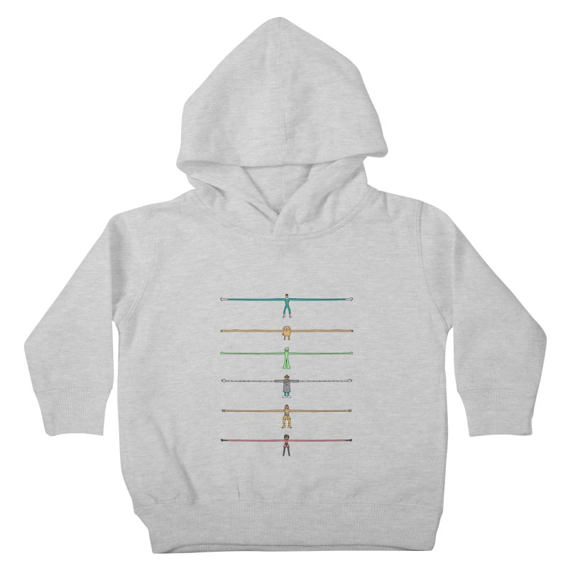 AAAAAARMS! Kids Toddler Pullover Hoody by davidfromdallas's Artist Shop