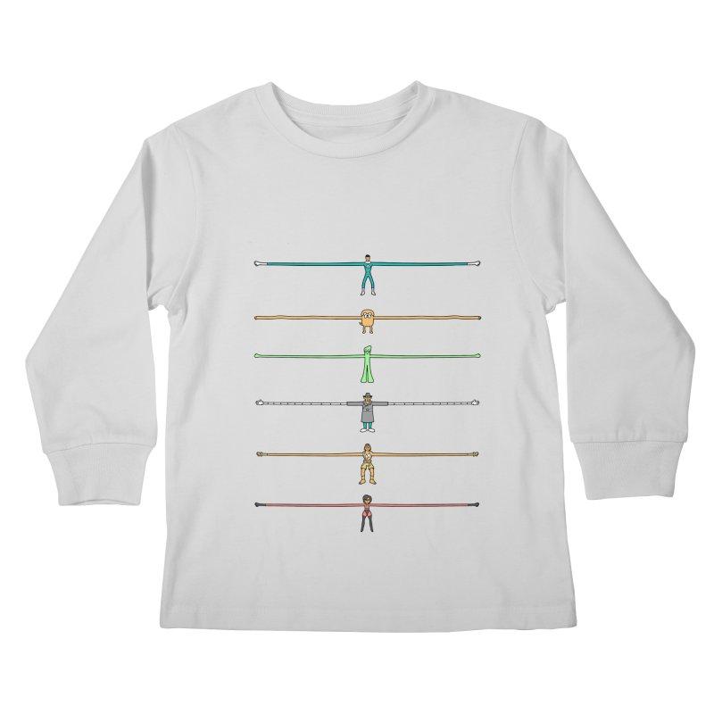 AAAAAARMS! Kids Longsleeve T-Shirt by davidfromdallas's Artist Shop