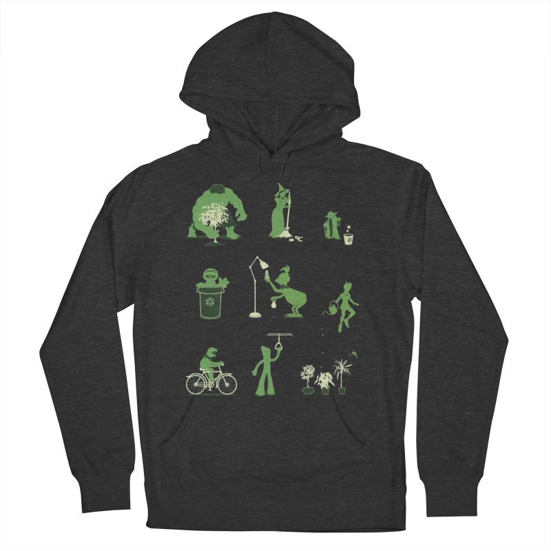 GOING GREEN Men's Pullover Hoody by davidfromdallas's Artist Shop