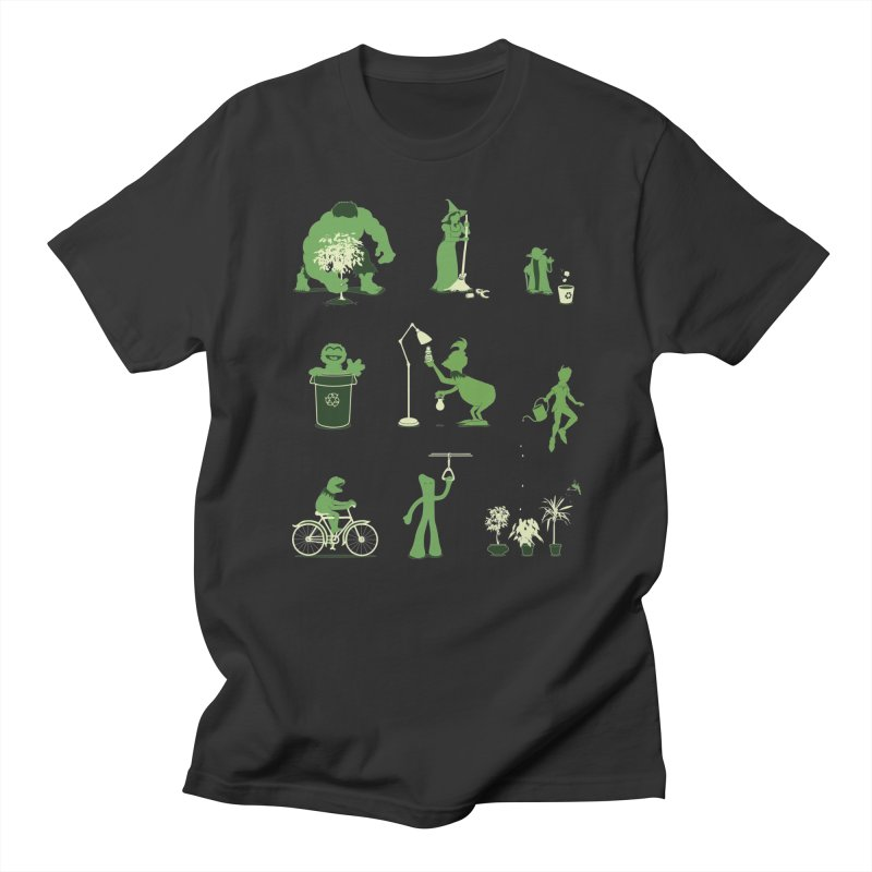 GOING GREEN Men's T-Shirt by davidfromdallas's Artist Shop