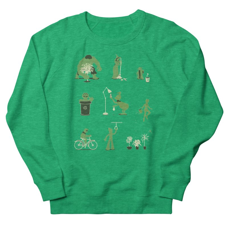 GOING GREEN Women's Sweatshirt by davidfromdallas's Artist Shop