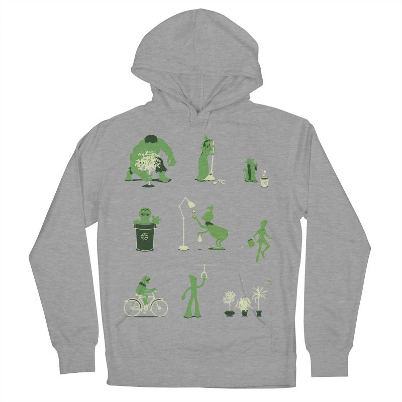 GOING GREEN Men's Pullover Hoody by davidfromdallas's Artist Shop