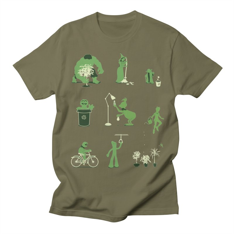 GOING GREEN Women's Unisex T-Shirt by davidfromdallas's Artist Shop