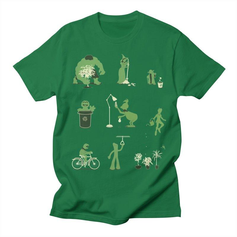 GOING GREEN Women's Regular Unisex T-Shirt by davidfromdallas's Artist Shop