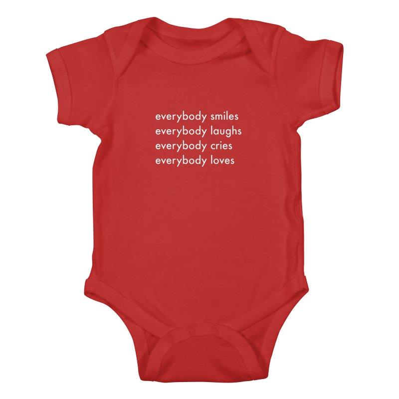 Everybody Kids Baby Bodysuit by Unprovable
