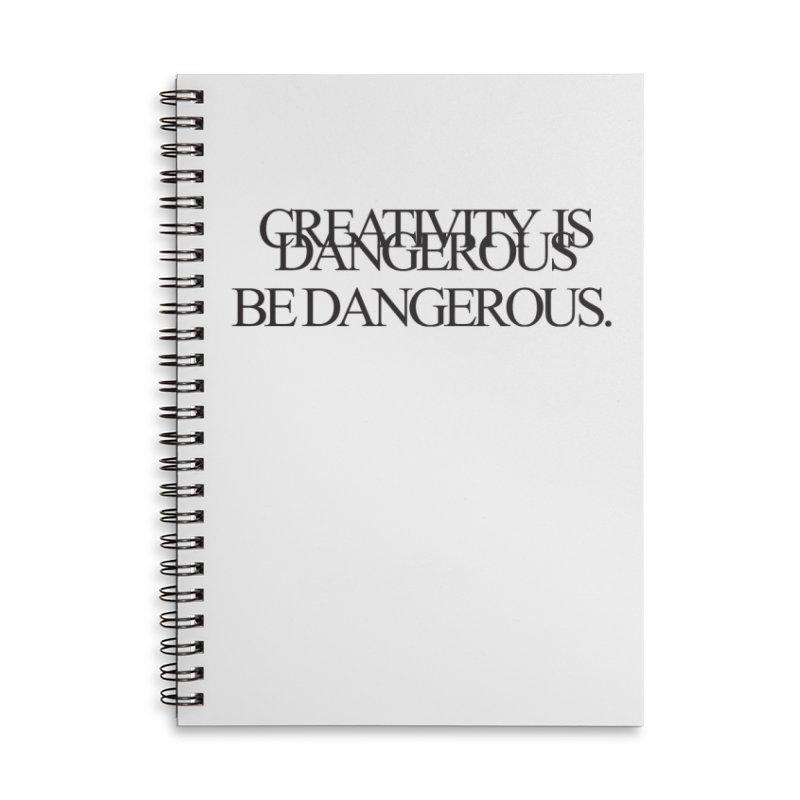 Create Dangerously Accessories Notebook by David Gorham Design Shop