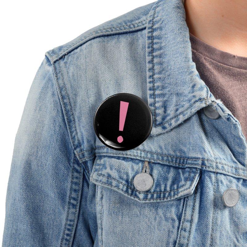 Future Excitement Accessories Button by David Gorham Design Shop