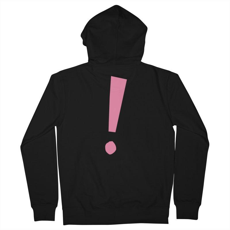 Future Excitement Men's Zip-Up Hoody by David Gorham Design Shop