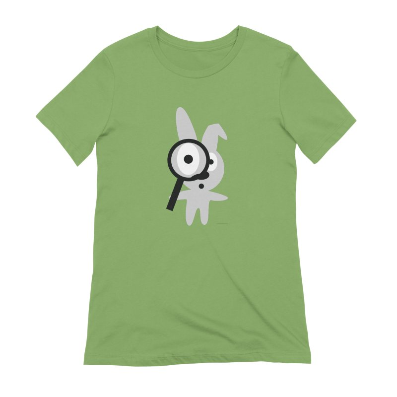 Wabbit Women's Extra Soft T-Shirt by David Hsu Design Artist Shop