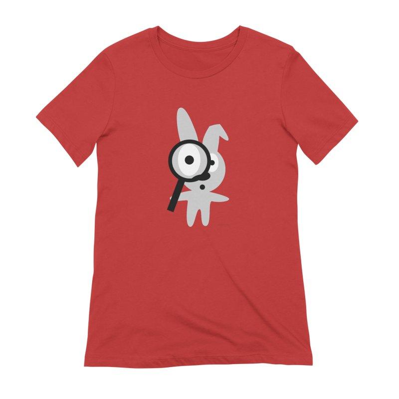 Wabbit Women's Extra Soft T-Shirt by David Hsu Design Artist Shop