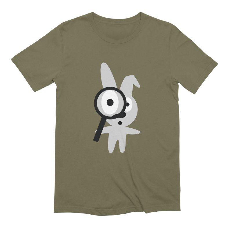 Wabbit Men's Extra Soft T-Shirt by David Hsu Design Artist Shop