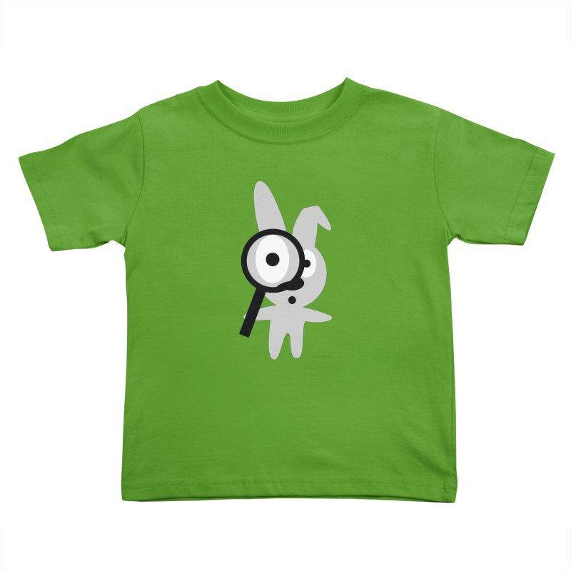 Wabbit Kids Toddler T-Shirt by David Hsu Design Artist Shop