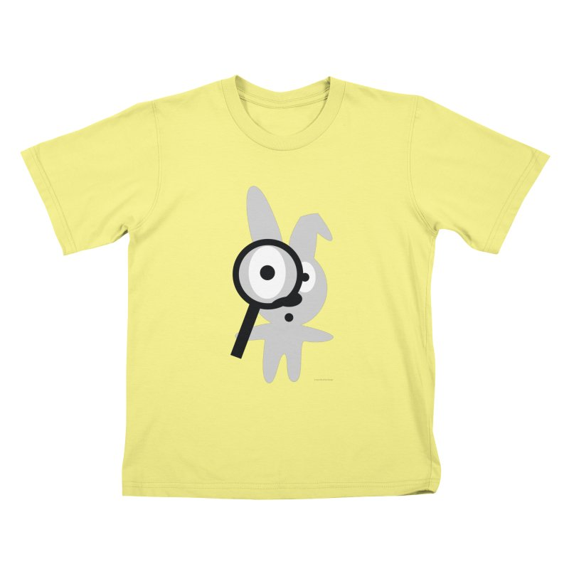 Wabbit in Kids T-Shirt Canary by David Hsu Design Artist Shop