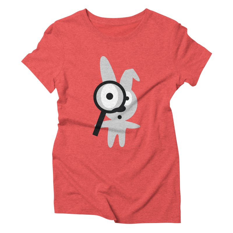 Wabbit Women's Triblend T-Shirt by David Hsu Design Artist Shop