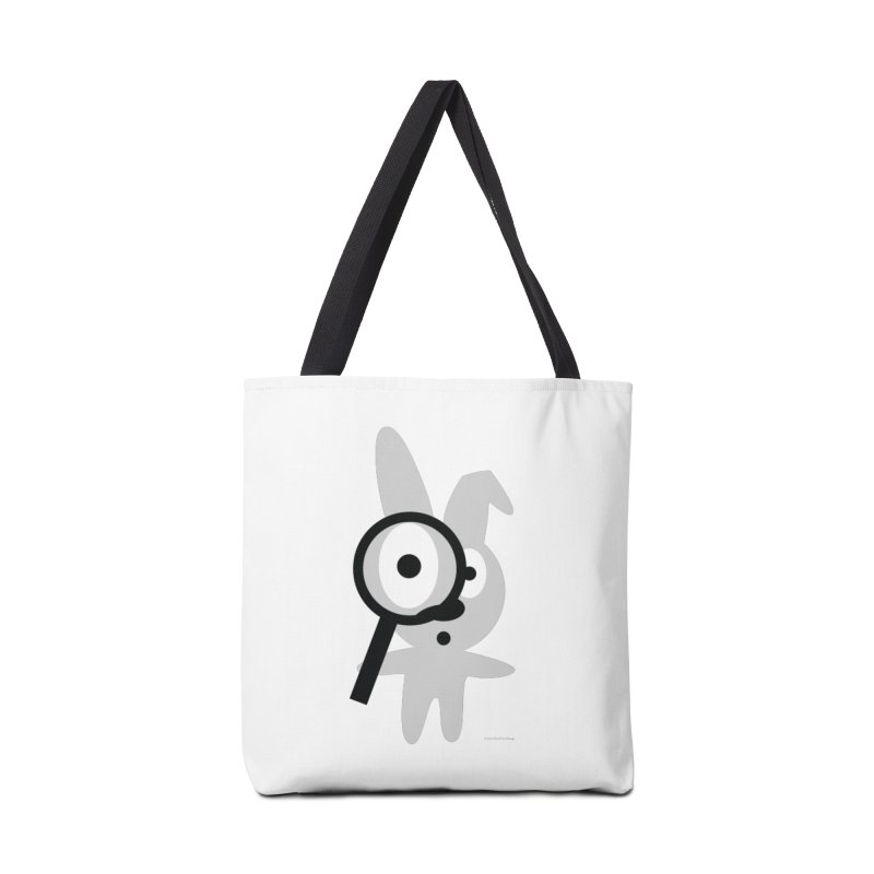Wabbit Accessories Tote Bag Bag by David Hsu Design Artist Shop