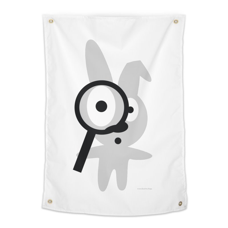 Wabbit Home Tapestry by David Hsu Design Artist Shop