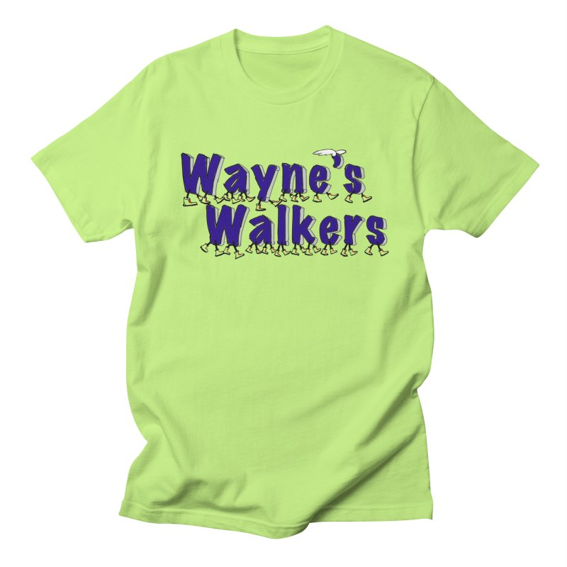 Wayne's Walkers Men's Regular T-Shirt by David Hsu Design Artist Shop