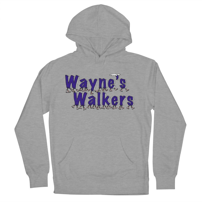 Wayne's Walkers Women's French Terry Pullover Hoody by David Hsu Design Artist Shop
