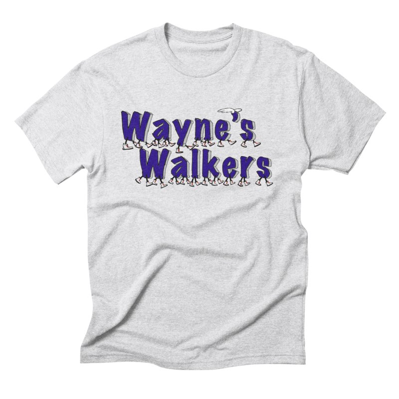 Wayne's Walkers Men's Triblend T-Shirt by David Hsu Design Artist Shop