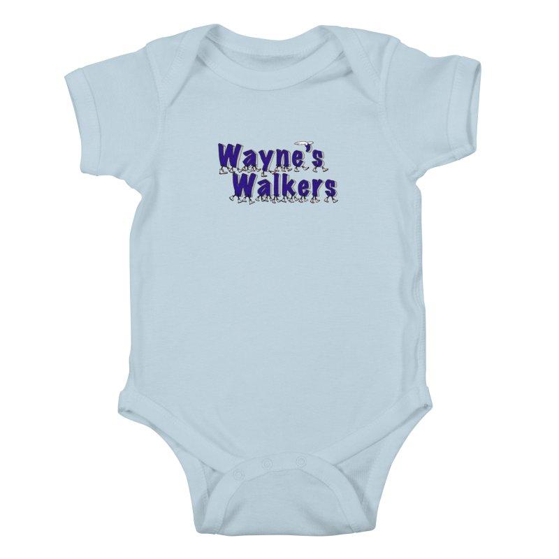 Wayne's Walkers Kids Baby Bodysuit by David Hsu Design Artist Shop