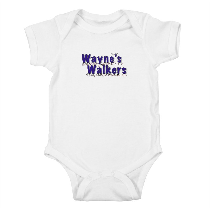 Wayne's Walkers Kids Baby Bodysuit by David Hsu Design Artist Shop