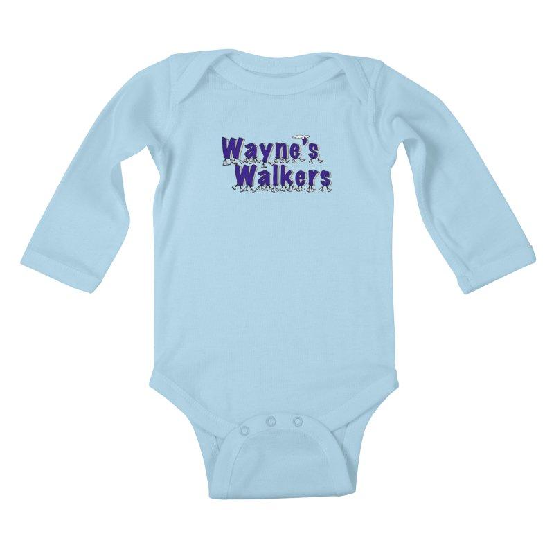Wayne's Walkers Kids Baby Longsleeve Bodysuit by David Hsu Design Artist Shop