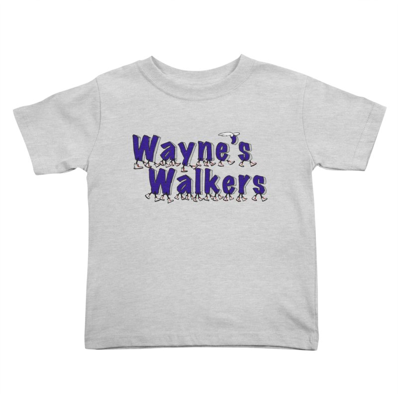 Wayne's Walkers Kids Toddler T-Shirt by David Hsu Design Artist Shop