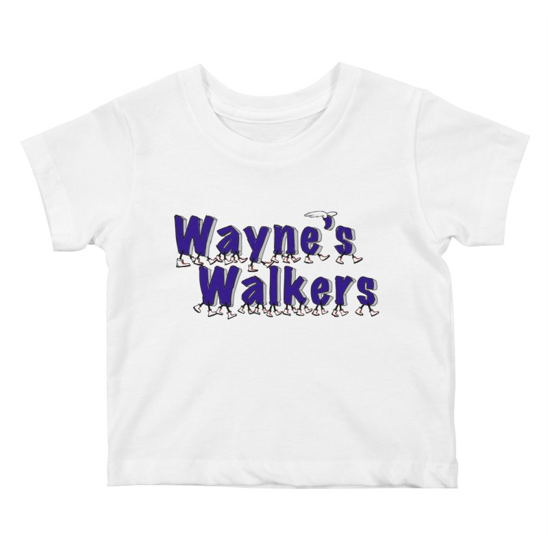 Wayne's Walkers Kids Baby T-Shirt by David Hsu Design Artist Shop