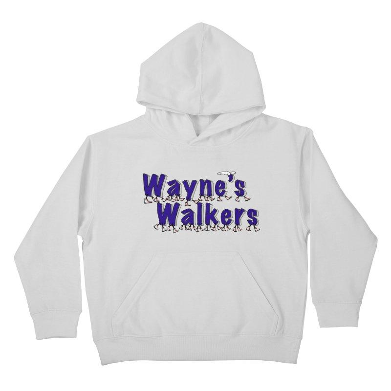 Wayne's Walkers Kids Pullover Hoody by David Hsu Design Artist Shop