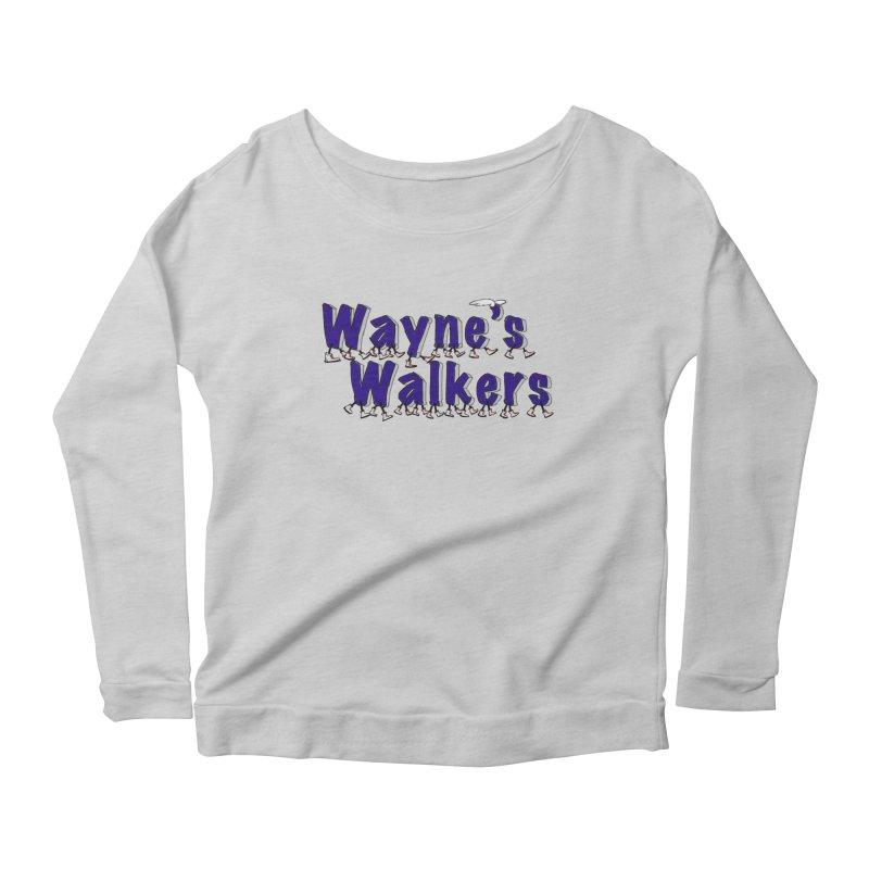 Wayne's Walkers Women's Scoop Neck Longsleeve T-Shirt by David Hsu Design Artist Shop