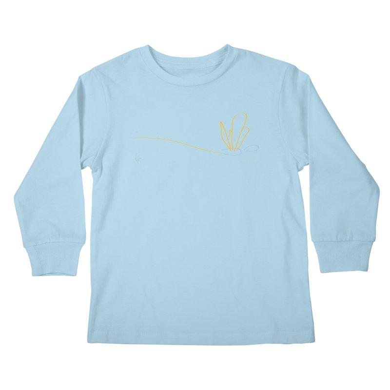 Dragonfly Mechanicals Kids Longsleeve T-Shirt by David Hsu Design Artist Shop