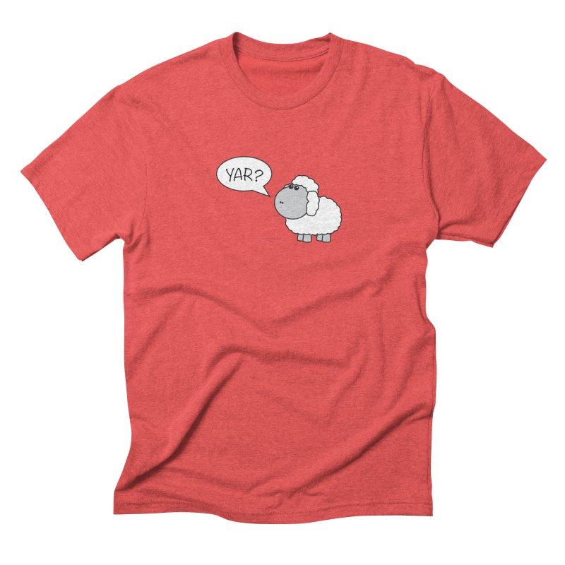 Yar Sheep Men's Triblend T-Shirt by David Hsu Design Artist Shop