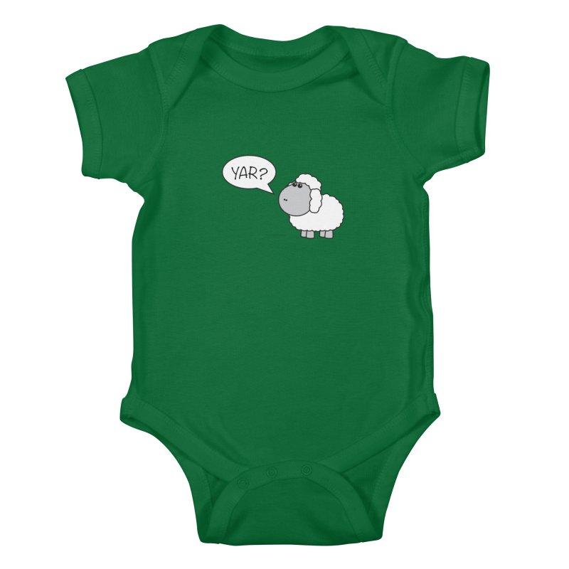 Yar Sheep Kids Baby Bodysuit by David Hsu Design Artist Shop