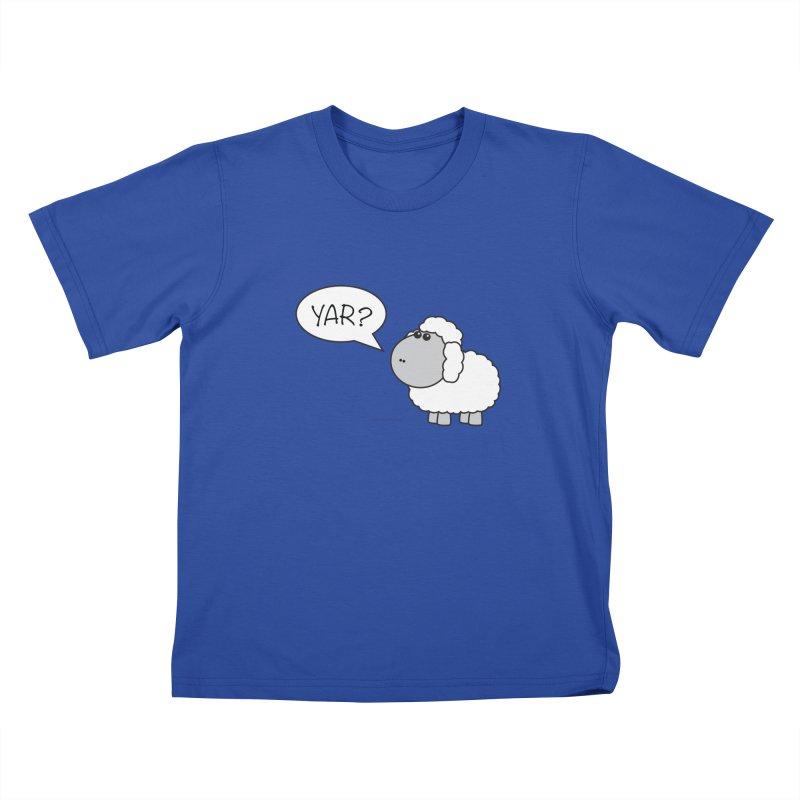 Yar Sheep Kids T-Shirt by David Hsu Design Artist Shop