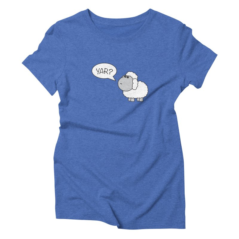 Yar Sheep Women's Triblend T-Shirt by David Hsu Design Artist Shop