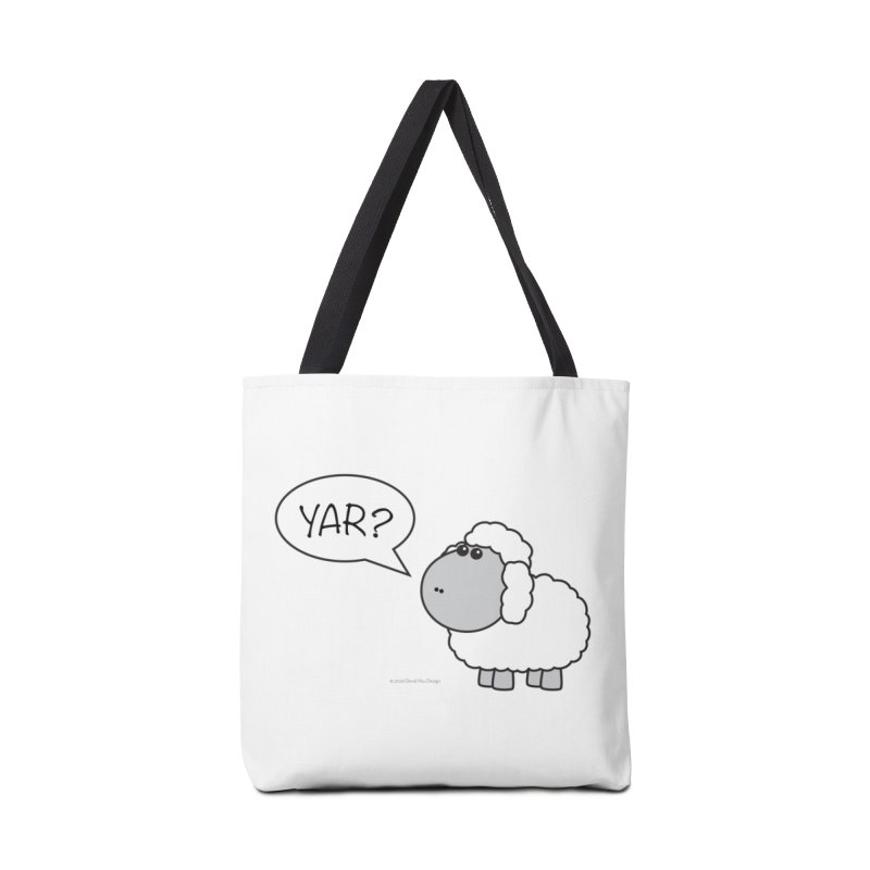 Yar Sheep Accessories Tote Bag Bag by David Hsu Design Artist Shop