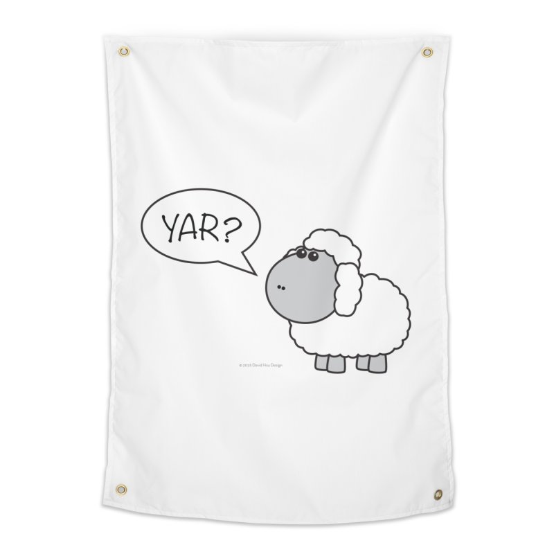 Yar Sheep Home Tapestry by David Hsu Design Artist Shop