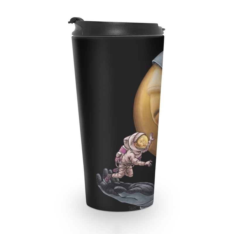 Out in the space Accessories Travel Mug by davidmacedoart's Artist Shop