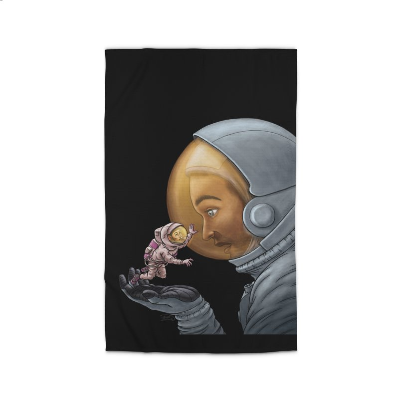Out in the space Home Rug by davidmacedoart's Artist Shop