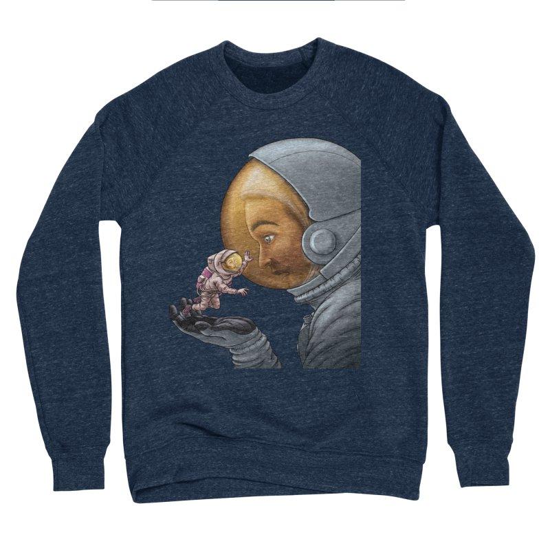 Out in the space Women's Sponge Fleece Sweatshirt by davidmacedoart's Artist Shop